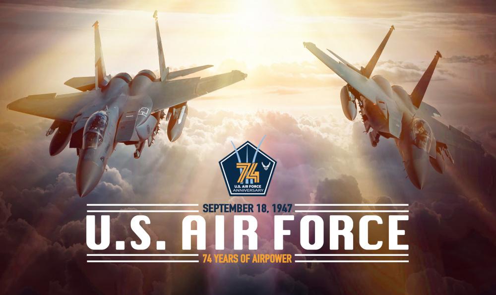 Air Force celebrates 74th birthday