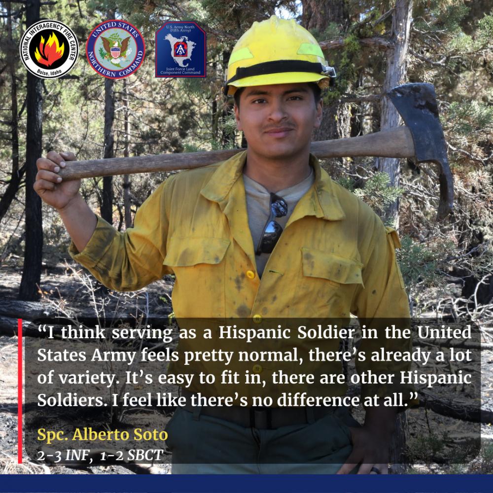 Spc. Alberto Soto - National Hispanic Heritage Month