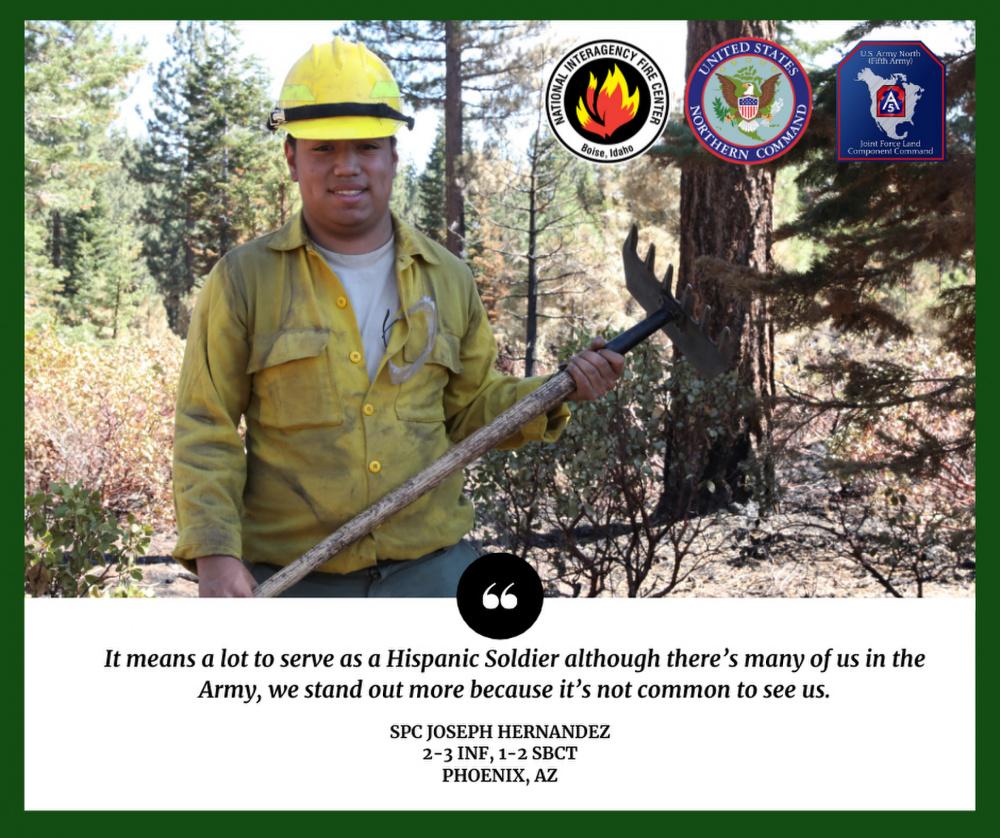 Spc. Joseph Hernandez - Hispanic Heritage Month