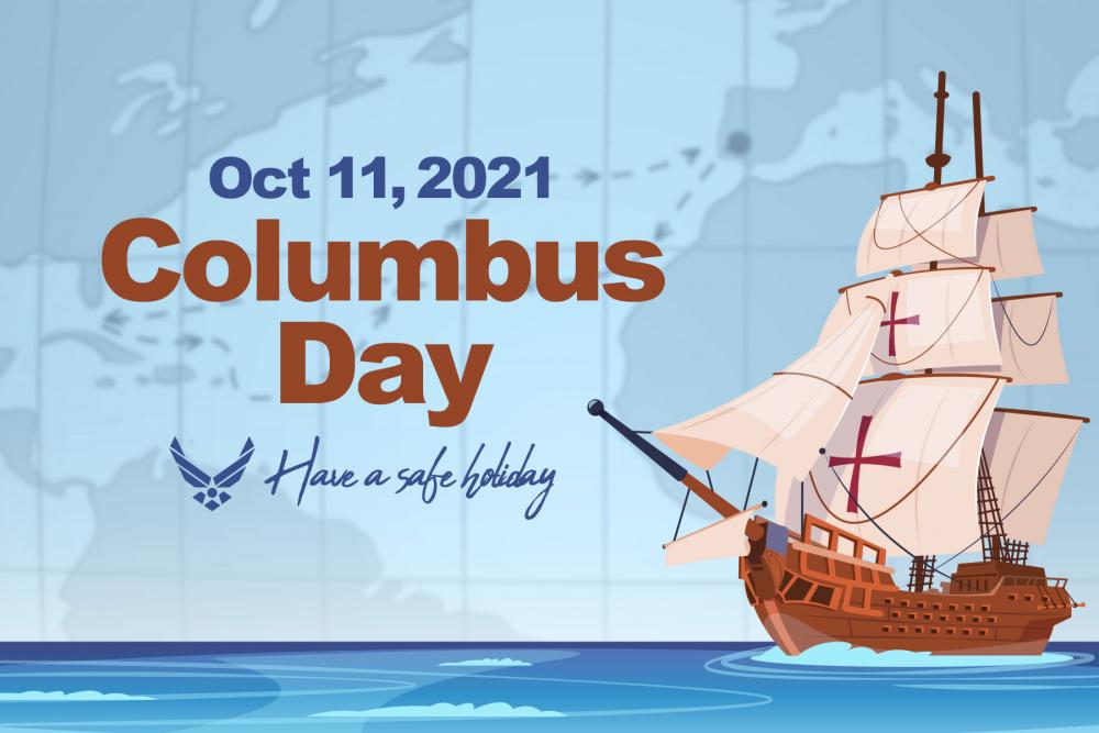 Columbus Day - Federal Holiday